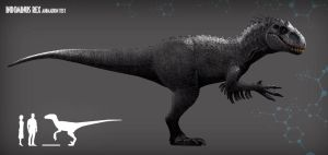 INDOMINUS REX ANIMATION TEST by pabluratops