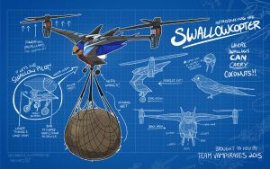 Swallowcopter by TheK40