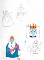 Ice king and young bubblegum by 9madgirl9