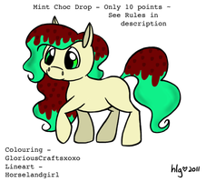 .:Adoptable Pony 3 - Only 10 points:.XCLOSEDX by GloriousCraftsxoxo