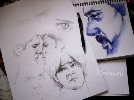 SPN Sketch Dump Preview by kleinmeli