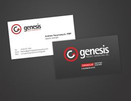 Genesis - Business Cards by Alneo