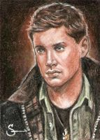 Dean Winchester card 13 by scotty309