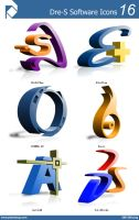 Dre-S Software Icons 16 by piscdong