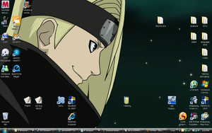 My current desktop thingy by Mellonychan