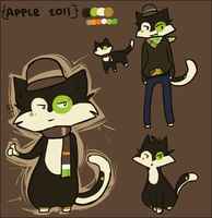 Apple Ref by Nifty-senpai