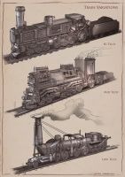 La Revolution 1625 Train Variations by dsorokin755