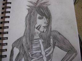 Dahvie Vanity (Anthem of the Outcasts) by rockstarcrossing