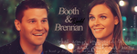 Booth and Brennan by Chibilina
