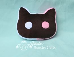 Cookie Cat Plush by CupCakeMonsterCrafts