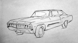 Chevy Impala by WeronikaB