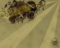Grunge Vector Wallpaper. by grazx