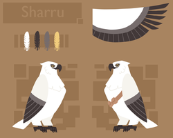 Sharru Eagle form ref 2013 by Chigle