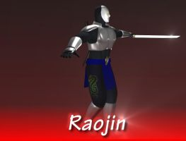 Original Character: Raojin 2 by Nragemachine