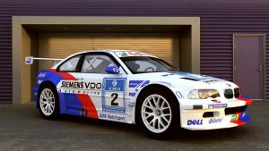 BMW Motorsport 2005 M3-GTR by melkorius