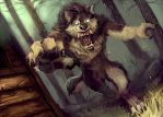 Woof commission by R-Daza
