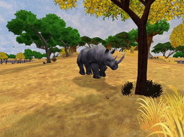 Zoo Tycoon 2: Black Rhinoceros by Chronicle-King