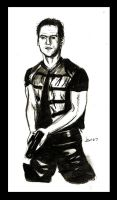 Farscape Sketch - Crichton by jeminabox