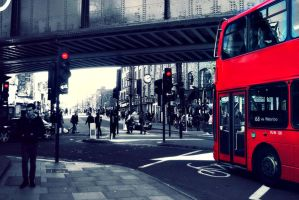 London in red by silya88