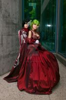 C.C. and Lelouch Prom 03 by DownFall2448