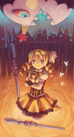 Mami Tomoe by LilHeart
