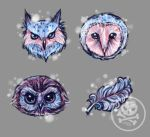 Owl ICON Set by Mirella-Gabriele