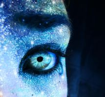 Artic Stars eye by DoodlesAndPictures