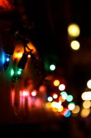 holiday lights by penny-layne