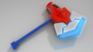 Optimus Prime's Axe by 100SeedlessPenguins