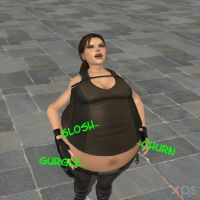 Fat Lara 4 by FatAliceBelly