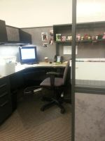 My Cubicle at Work by stephuhnoids