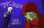 Maggot Boy is now on Patreon! by flipsidered