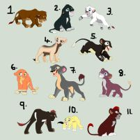 Lion Cub Adopts - OPEN by Adopt-Til-You-Drop