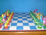 super mario chess by nochena