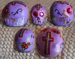 Sugar Skull 80 SOLD by angelacapel