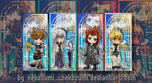 KH2 - BOOKMARK SET by Jennaris