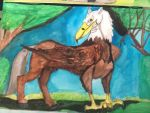 North American Hippogryph by Dragonfire810