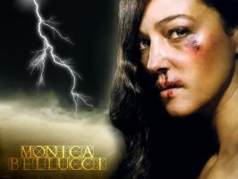 Monica Bellucci - Raging by Lord-Iluvatar