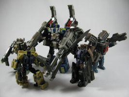 Combaticons: All together by Doubledealer93