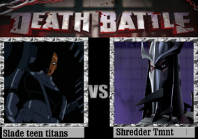 Slade Vs Shredder by newsuperdannyzx