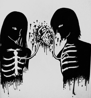 Two hearts slamming as one by Demolitioncolorsceme
