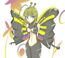 Personification: Beautyfly by l0lStephxl0l