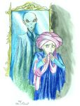 Prof. Quirrell by DemonCartoonist