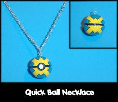 Quick Ball Necklace Charm by YellerCrakka