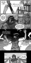 Haunted Library - Audition pg1 by MischiefJoKeR