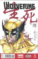 Wolverine #1 Sketch Cover by GuanlinChen