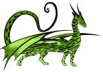 Whiptail Dragon by fantasy-coolcat