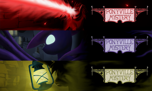 Ponyville Mystery Header Collection Goodness! by Konsumo