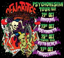 CENOBITES Psychonesian tour poster by HorrorRudey