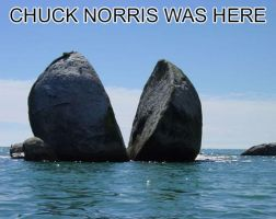 Chuck Norris was here. by BvBFreak9